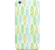 Watercolor leaf iPhone Case/Skin