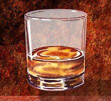 Whiskey Glass by Irina Sztukowski