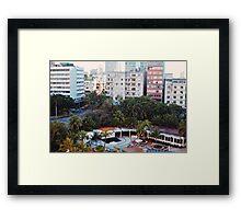 The Pool, Hotel Nacional at Sunrise (Havana) Framed Print