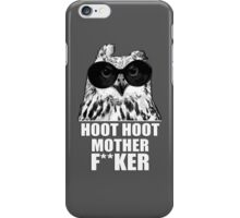Hoot Hoot iPhone Case/Skin