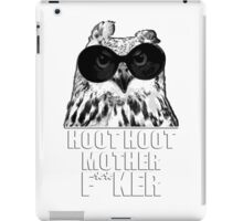 Hoot Hoot iPad Case/Skin