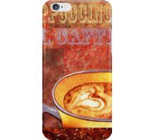 Cappuccino iPhone Case/Skin