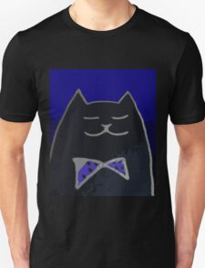 Cat in the Tux Unisex T-Shirt