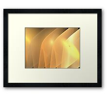 Sand Ridges Framed Print