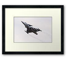 Gripen Framed Print