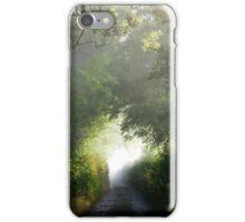 Gaylands Lane in Autumn iPhone Case/Skin