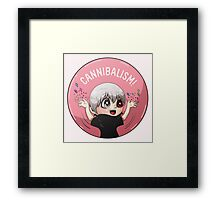 Cannibalism! Framed Print