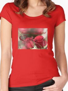 Forever In My Heart Women's Fitted Scoop T-Shirt