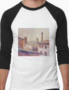 Three Luccan Towers Men's Baseball ¾ T-Shirt