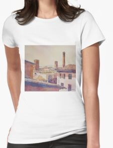 Three Luccan Towers Womens Fitted T-Shirt