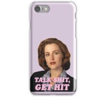 Dana Scully Sticker iPhone Case/Skin