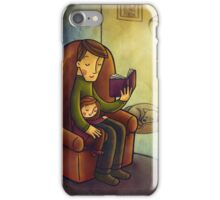 Reading stories iPhone Case/Skin