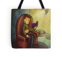 Reading stories Tote Bag