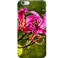 Hong Kong Orchid Blossom  iPhone Case/Skin