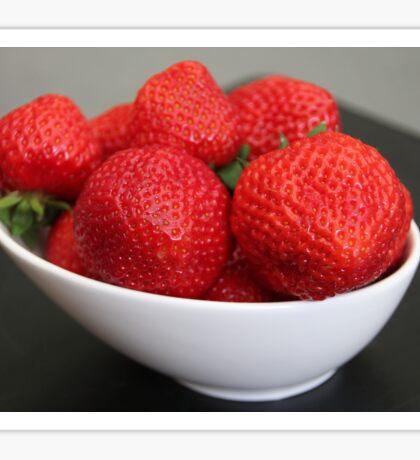 Strawberries :) Sticker