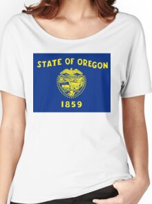oregon state flag Women's Relaxed Fit T-Shirt