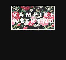 Vampire Weekend Logo on Floral  Mens V-Neck T-Shirt