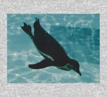 Diving Penguin One Piece - Long Sleeve