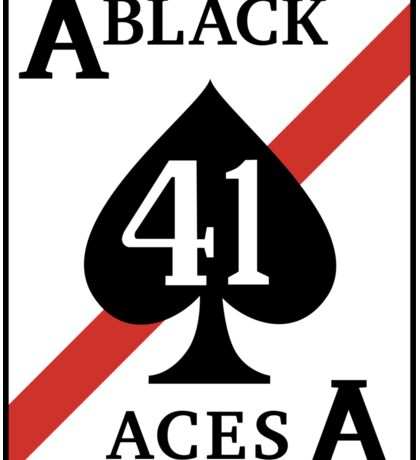 The Black Aces Sticker