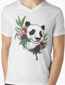 Panda bear with flowers T-Shirt