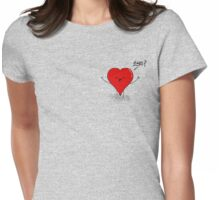 Hearty Hugs Womens Fitted T-Shirt