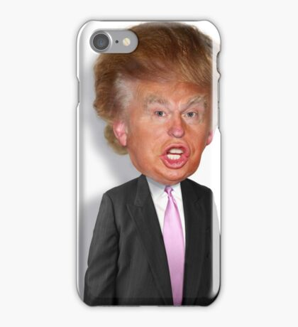 Hilarious Donald Trump! iPhone Case/Skin