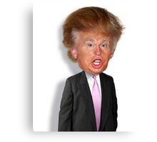 Hilarious Donald Trump! Canvas Print