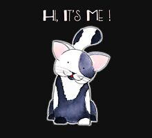 Hi, It's Me! - Black and White Kitten Unisex T-Shirt