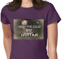 KEEP THE CALM Womens Fitted T-Shirt