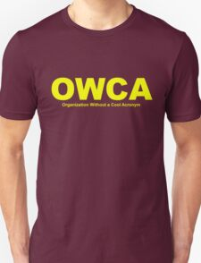 OWCA Organization Without A Cool Acronym - Phineas and Ferb Unisex T-Shirt