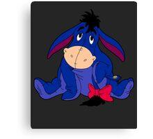 Winnie Pooh Eeyore Canvas Print