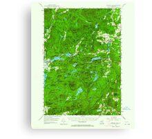 New York NY Paradox Lake 136391 1953 62500 Canvas Print