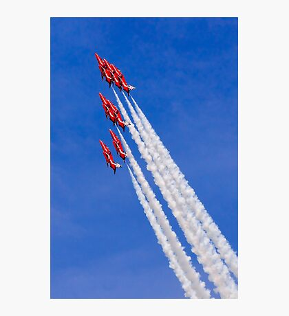 Red Arrows Climb Photographic Print