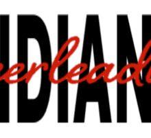 Indiana Cheerleading Sticker