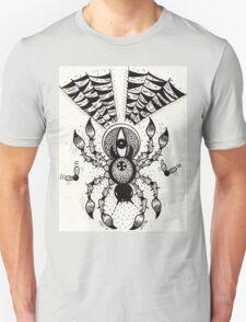 Black Spider Unisex T-Shirt