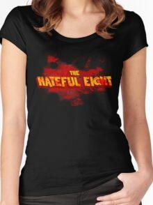 The Hateful Eight |Boodsplatter| Women's Fitted Scoop T-Shirt