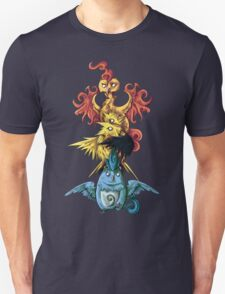 articuno zapdos moltress legendary pokemon tower T-Shirt