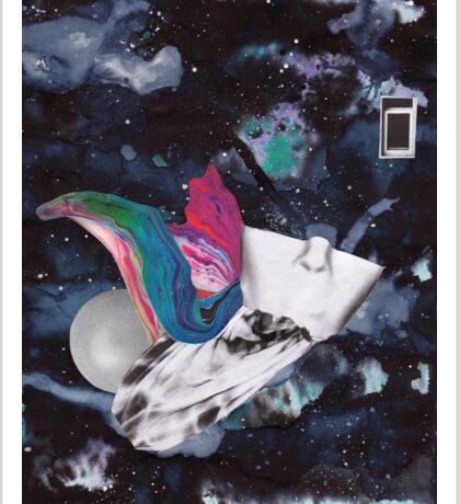Scraps of Poetry 2 Sticker