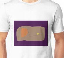 Bread Dark Purple Unisex T-Shirt