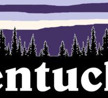Purple Kentucky Sticker