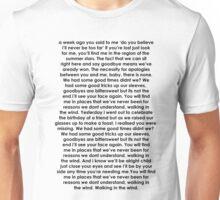 walking in the wind lyrics Unisex T-Shirt