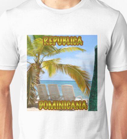 Republica Dominicana Unisex T-Shirt