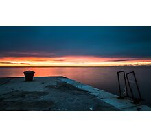 docks of Trieste Photographic Print