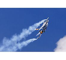 F-16 Fire and Vapour Photographic Print