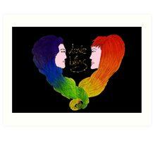 Love wins - LGBT+ - Pride  Art Print
