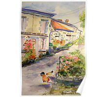 French Village Poster