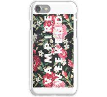 VW Logo Floral- Vertical iPhone Case/Skin