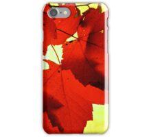 RED NOVEMBER iPhone Case/Skin