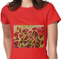 Stunning Coleus Leaves Womens Fitted T-Shirt