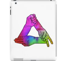 Rock.Paper.Scissors - ONE:Print iPad Case/Skin